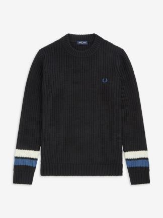 Fred Perry bold tipped jumper