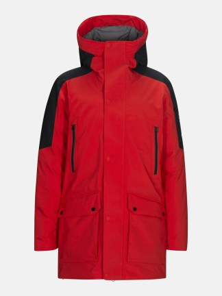 Peak Performance Hyper Parka red