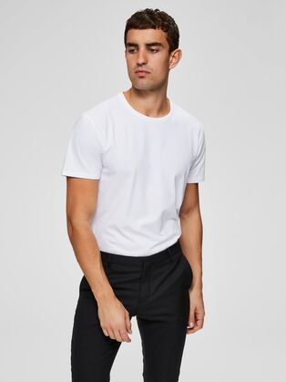 Selected New Pima o-neck T-shirt