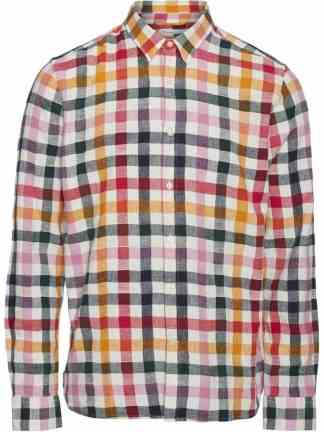 Knowledge Cotton Apparel Larch Check shirt