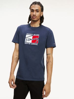 Tommy Jeans flag tee