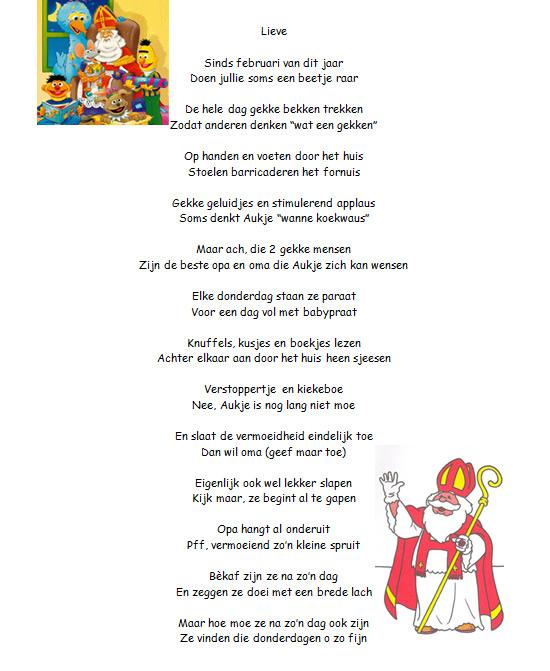 sinterklaas gedichten kinderen