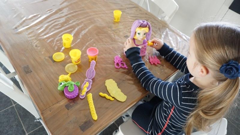 play-doh rapunzel