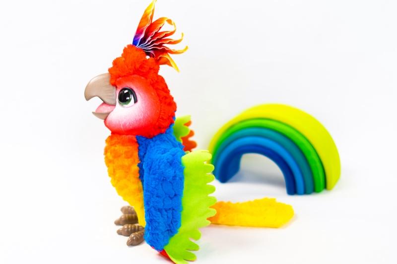 furreal friends papegaai