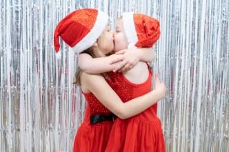 kerstfoto kids