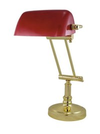 G4061: Noble Old British Bankers Lamp, Banker's lamp ...