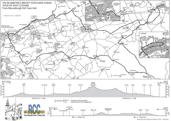 "Musselburgh ""Tour of East Lothian"" Audax"
