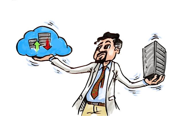 """Aplicaciones """"Cloud"""" versus Aplicaciones """"on premise"""" (En casa)"""