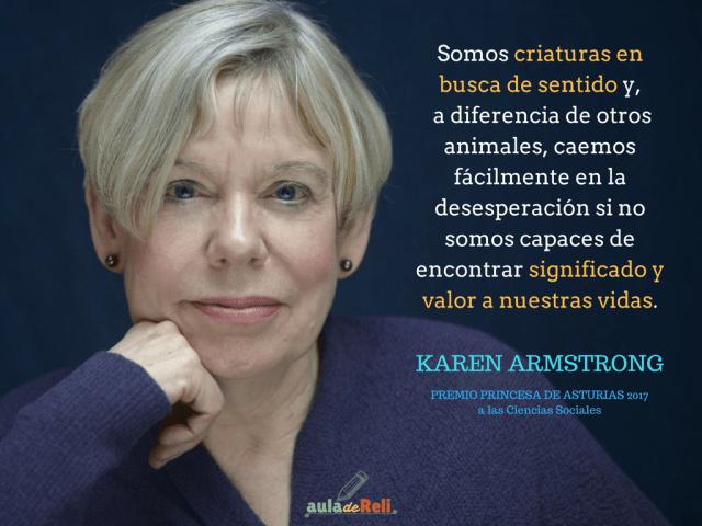 Karen Armstrong Estudio Religiones 2