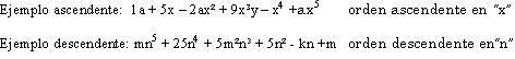 Tipos de polinomios
