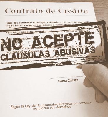 Las cláusulas abusivas en los contratos