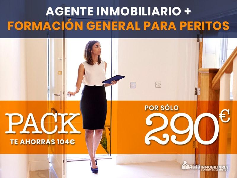 Pack Agente Inmobiliario + Formación General Peritos - Aula Inmobiliaria