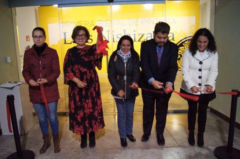 """Se-inaugura-exposición-de-la-Primera-Bienal-de-Pintura-""""Luis-Nishizawa""""-en-el-CCMB-1"""
