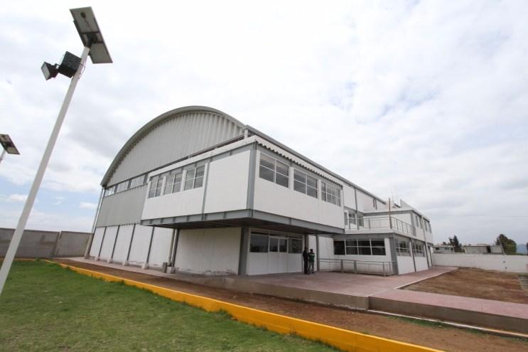 Construye gobierno estatal gimnasio multidisciplinario en el centro regional para talentos deportivos de Tonanitla 4
