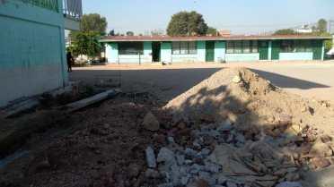 La Escuela de la imagen es la Escuela Primaria Estado de Michoacán, ubicada en la 4a Avenida y calle La Enramada, Col. Benito Juárez, Neza.