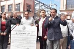 Bando de AMLO llega a Toluca 2