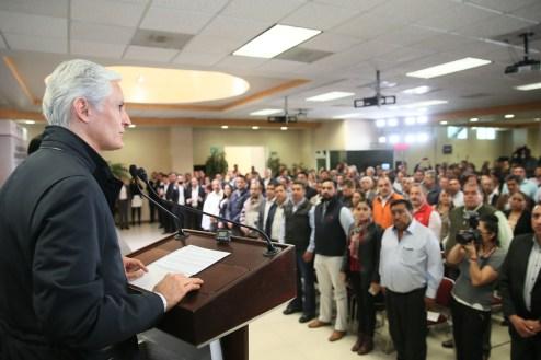 Trabajo coordinado entre GEM y autoridades municipales da mejores resultados a los mexiquenses Alfredo del Mazo 4