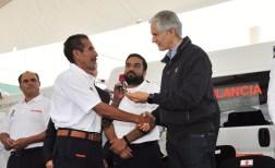 Entrega Alfredo del Mazo nuevas ambulancias al ISSEMYM para brindar mejores servicios de salud a sus derechohabientes 4