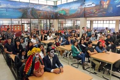 """Inauguran exposición """"La noche del gallo"""" en el Tecnológico de Estudios Superiores de Valle de Bravo 1"""