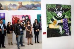 """Inauguran exposición """"La noche del gallo"""" en el Tecnológico de Estudios Superiores de Valle de Bravo 5"""