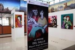 """Inauguran exposición """"La noche del gallo"""" en el Tecnológico de Estudios Superiores de Valle de Bravo 6"""