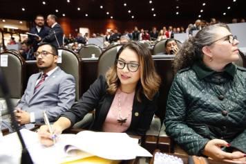 La Diputada vallesana de Morena Marisol Mercado, nueva Secretaria de la Comisión del Deporte en la Cámara de Diputados