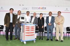 Reciben nueve hospitales del ISEM equipo para diagnosticar y tratar infartos 2