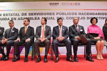 Asiste Miguel Sámano a la reunión estatal de Servidores Públicos hacendarios