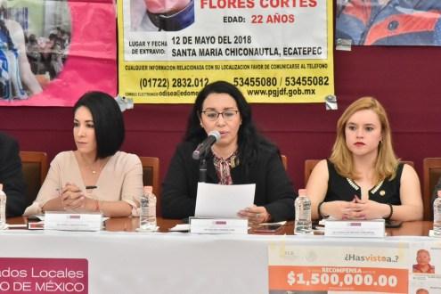 Impulsarán Diputadas, Funcionarios y Colectivos de familiares de víctimas acciones para combatir los Feminicidios