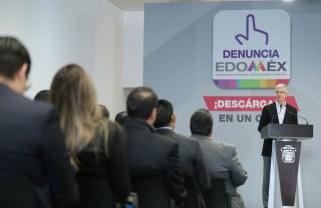 """Aplicación móvil """"Denuncia Edoméx"""" permitirá fortalecer la transparencia y combatir la corrupción en la entidad Alfredo del Mazo 1"""