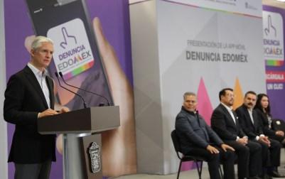"""Aplicación móvil """"Denuncia Edoméx"""" permitirá fortalecer la transparencia y combatir la corrupción en la entidad Alfredo del Mazo 11"""