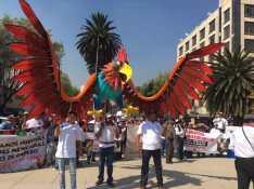 Demandan con mega marcha no desaparecer tradiciones y conservar miles de fuentes de empleo 4