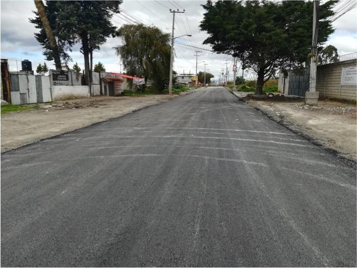 Avanza rehabilitación en Avenida de las Partidas en la Capital Mexiquense