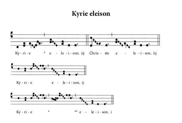 Read more about the article Kyrie … avec un K comme carême