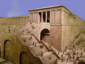 Temple au temps de Jésus