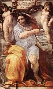 Isaïe, Raphaël, Basilique saint Augustin, Rome, 1512