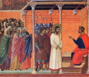 Jesus-pilate