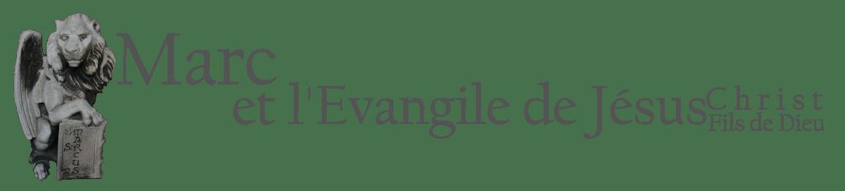 Marc et l'évangile de Jésus