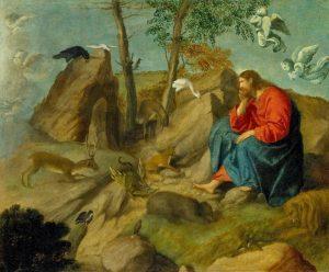 Moretto Da Brescia, le Christ au Désert, XVIe s.