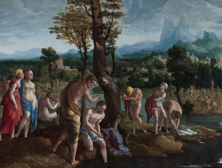 Banal baptême (Mc 1,4-11)