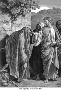Le lépreux et l'irritation de Jésus (Mc 1,40-45)