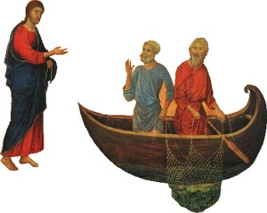 Pêcheurs d'hommes sans filet (Mc 1,14-20)