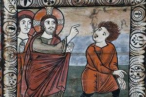 Jésus, exrocisme d'un homme possédé à Capharnaüm
