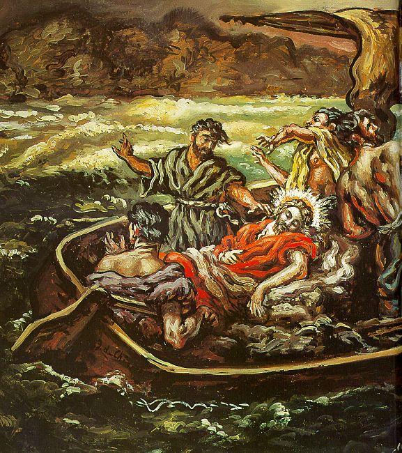 Giorgio de Chirico 1914, Jésus Christ et la tempête