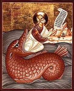 Icone orthodox, Le prophète Jonas