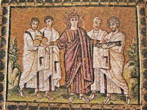 Multiplication des pains, Saint Apollinaire, Ravenne, VI°s.