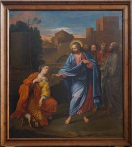 Jésus et la Cananéenne Le letin 1660