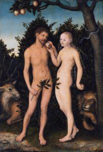 Lucas Cranach l'Ancien, Adam et Eve, 1533