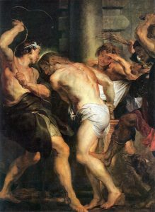 Flagellation du Christ, Rubens, 1620