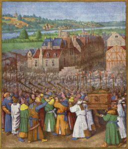 Jean Fouquet, Prise de Jericho, 1420